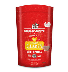 Stella & Chewy's Stella & Chewy's Raw Frozen Dog Food Chewy's Chicken Patties 6 lb (*Frozen Products for Local Delivery or In-Store Pickup Only. *)
