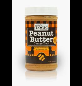 Nature's Logic Nature's Logic Dog Peanut Butter 12 oz CASE