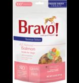 Bravo The Pet Beastro Bravo Freeze Dried Dog Treats  Salmon Bonus Bites 2 oz All-Natural Dog Treats Pure Meat Protein Single-Ingredient Low-Fat Dry-Roasted