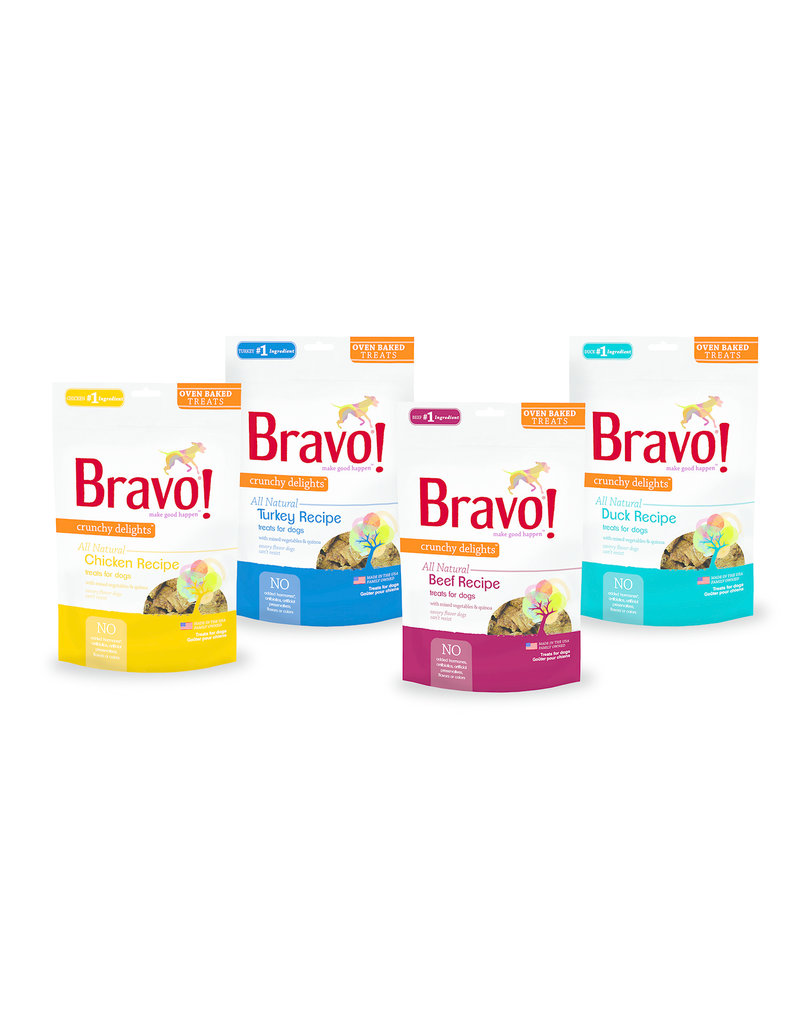 Bravo The Pet Beastro Bravo Freeze Dried Dog Treats  Chicken Breast Bonus Bites 3 oz All-Natural Dog Treats Pure Meat Protein Single-Ingredient Low-Fat Dry-Roasted