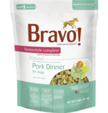 Bravo The Pet Beastro Bravo Homestyle Complete Dehydrated Dog Food  Pork 2 lb All-Natural For Raw Feeding and High Protein Diets Limited-Ingredient Grain-Free Gluten-Free Freeze-Dried