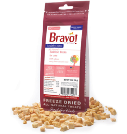Bravo Bravo Freeze Dried Cat Treats Salmon 1 oz