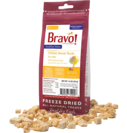 Bravo Bravo Freeze Dried Cat Treats Chicken Breast 1.25 oz