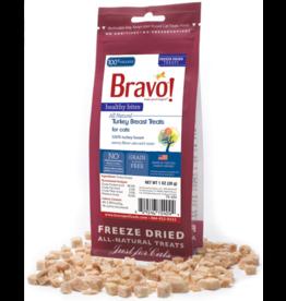 Bravo Bravo Freeze Dried Cat Treats | Turkey Breast 1 oz