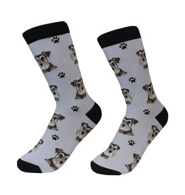 Sock Daddy Sock Daddy Unisex One Size Cotton Socks   Schnauzer, UC