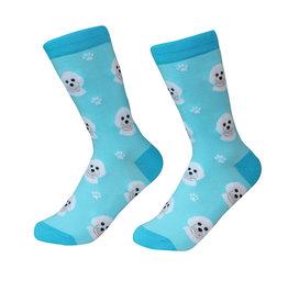 Sock Daddy Sock Daddy Unisex One Size Cotton Socks | Bichon Frise