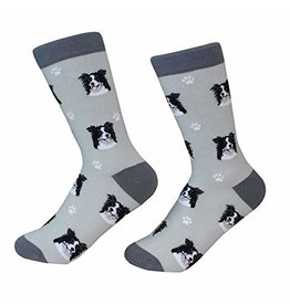 Sock Daddy Sock Daddy Unisex One Size Cotton Socks | Border Collie