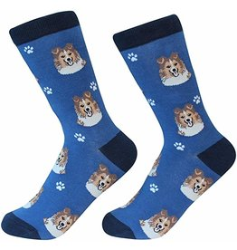 Sock Daddy Sock Daddy Unisex One Size Cotton Socks | Sheltie