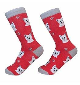 Sock Daddy Sock Daddy Unisex One Size Cotton Socks | Westie