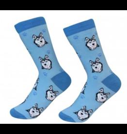 Sock Daddy Sock Daddy Unisex One Size Cotton Socks | Siberian Husky