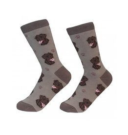 Sock Daddy Sock Daddy Unisex One Size Cotton Socks | Labrador, Chocolate