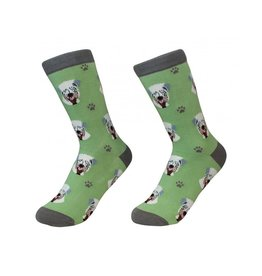 Sock Daddy Sock Daddy Unisex One Size Cotton Socks | Soft Coated Wheaten Terrier