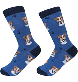 Sock Daddy Sock Daddy Unisex One Size Cotton Socks | Jack Russell