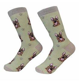 Sock Daddy Sock Daddy Unisex One Size Cotton Socks | German Shepherd