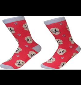 Sock Daddy Sock Daddy Unisex One Size Cotton Socks | Golden Retriever