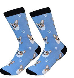 Sock Daddy Sock Daddy Unisex One Size Cotton Socks | Welsh Corgi