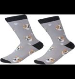 Sock Daddy The Pet Beastro Sock Daddy Unisex One Size Cotton Socks | Pit Bull Custom-Made Dog Breed Socks Machine-Washable Crew Mid-Shin Gift