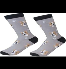 Sock Daddy Sock Daddy Unisex One Size Cotton Socks | Pit Bull