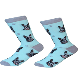 Sock Daddy Sock Daddy Unisex One Size Cotton Socks | Australian Cattle Dog