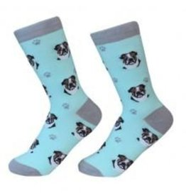 Sock Daddy Sock Daddy Unisex One Size Cotton Socks | Bulldog
