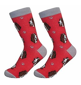Sock Daddy Sock Daddy Unisex One Size Cotton Socks | Basset Hound