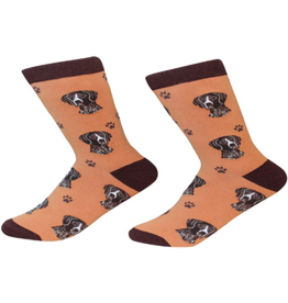 Sock Daddy Sock Daddy Unisex One Size Cotton Socks | German Shorthaired Pointer