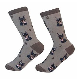 Sock Daddy Sock Daddy Unisex One Size Cotton Socks | Doberman