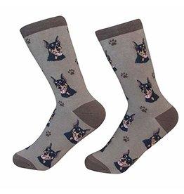 Sock Daddy Sock Daddy Unisex One Size Cotton Socks | Doberman