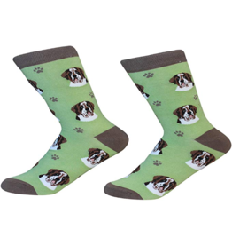 Sock Daddy Sock Daddy Unisex One Size Cotton Socks | Saint Bernard