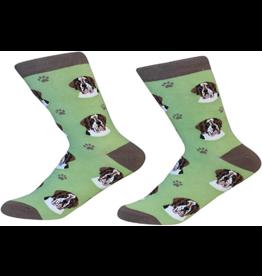 Sock Daddy Sock Daddy Unisex One Size Cotton Socks | Saint Bernard