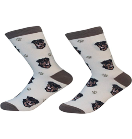 Sock Daddy Sock Daddy Unisex One Size Cotton Socks | Rottweiler