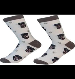 Sock Daddy Sock Daddy Unisex One Size Cotton Socks | Rottweiler