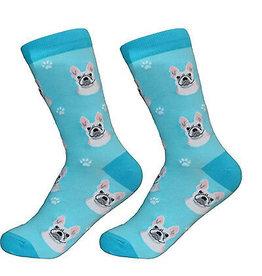 Sock Daddy Sock Daddy Unisex One Size Cotton Socks | French Bulldog