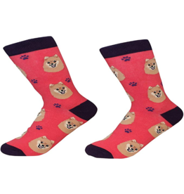 Sock Daddy Sock Daddy Unisex One Size Cotton Socks | Pomeranian