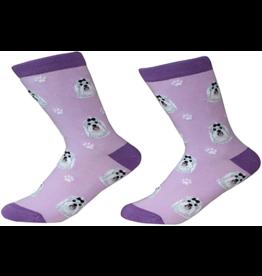 Sock Daddy Sock Daddy Unisex One Size Cotton Socks | Maltese