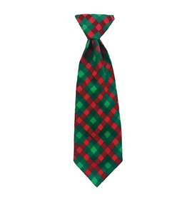 Huxley & Kent Huxley & Kent Long Tie Scottish Check Small
