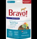 Bravo The Pet Beastro Bravo Bonus Bites Dry Roasted Farm-Raised Duck Feet Bulk 5 oz All-Natural Dog Treats Crunchy Single-Ingredient Protein Freeze Dried