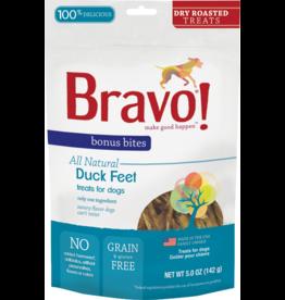 Bravo Bravo Freeze Dried Dog Treats Dry Roasted Duck Feet Bonus Bites 5 oz