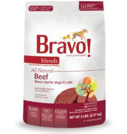Bravo Bravo Blends Frozen Patties CASE Beef 5 lbs (*Frozen Products for Local Delivery or In-Store Pickup Only. *)