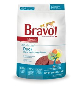Bravo Bravo Blends Frozen Patties CASE Duck 5 lbs (*Frozen Products for Local Delivery or In-Store Pickup Only. *)
