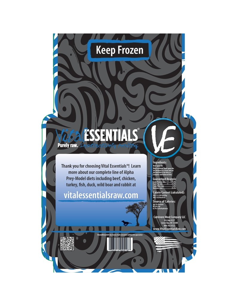 Vital Essentials Vital Essentials Raw Frozen Center Cut Armbones 2 lb 8 oz Natural  Raw Frozen Dog Hard Dental Chew Protein (*Frozen Products for Local Delivery or In-Store Pickup Only. *)