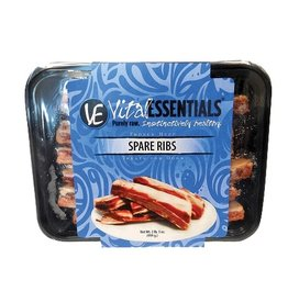 Vital Essentials Vital Essentials Raw Frozen 3 oz Beef Spare Ribs 2 lb (*Frozen Products for Local Delivery or In-Store Pickup Only. *)
