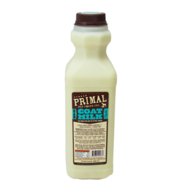 Primal Pet Foods Primal Frozen Raw Goat Milk 32 oz CASE (*Frozen Products for Local Delivery or In-Store Pickup Only. *)