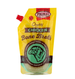Primal Pet Foods Primal Frozen Bone Broth Chicken 20 oz (*Frozen Products for Local Delivery or In-Store Pickup Only. *)