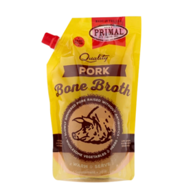 Primal Pet Foods Primal Frozen Bone Broth Pork 20 oz (*Frozen Products for Local Delivery or In-Store Pickup Only. *)