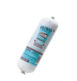 Primal Primal Frozen Mix Sardine Chub 2 lbs CASE (*Frozen Products for Local Delivery or In-Store Pickup Only. *)