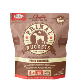 Primal Primal Raw Frozen Nuggets Dog Food Pork 3 lb (*Frozen Products for Local Delivery or In-Store Pickup Only. *)