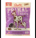 Primal Primal Jerky Dog Treats  Pork Nibs 4 oz