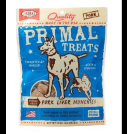 Primal Primal Freeze Dried Dog Treats  Pork Liver Munchies 2 oz