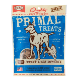 Primal Primal Freeze Dried Dog Treats  Turkey Liver Munchies 2 oz